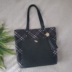 Emma Fox | Plaid | Soulder Bag | EUC